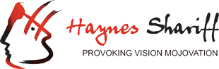 Logo for haynes shariff website